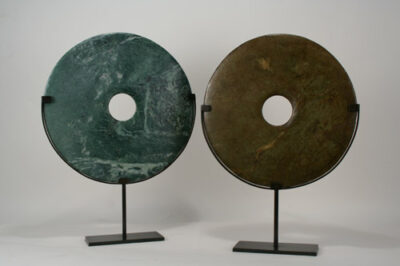 Interior Decor Jade Stone with Stands