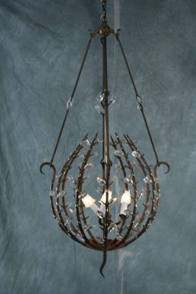 andre dubreuil organic natural rock crystal stone chandelier