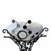 Edgar Brandt Style Floor Lamp