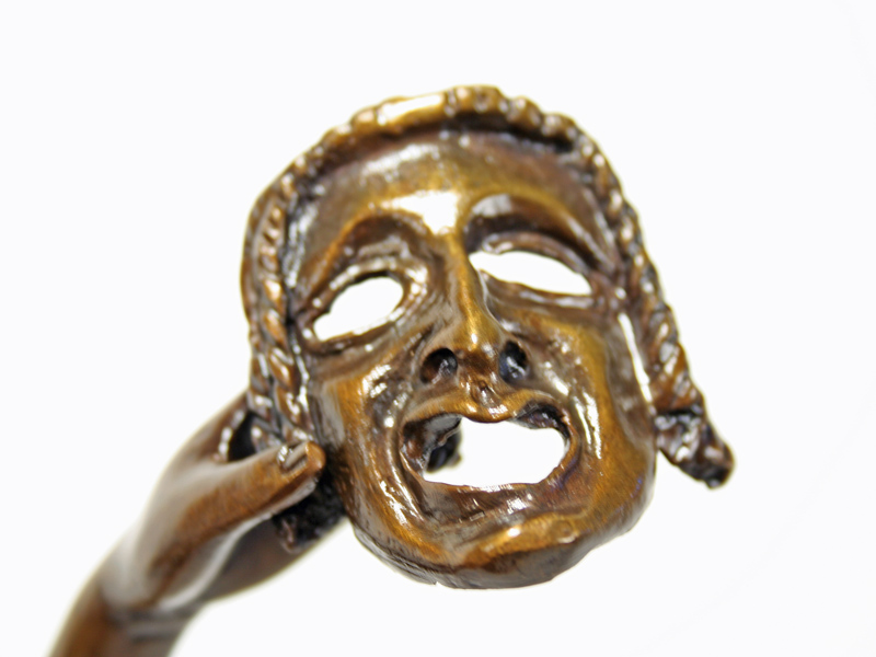 Joe Descomps Art Deco Bronze Dancer With Mask Art Deco Decor