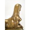 Art Deco Bronx Sphinx Upper Body