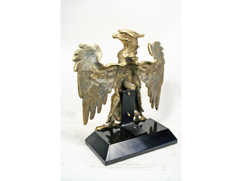 european style brass eagle statue art deco decor. Black Bedroom Furniture Sets. Home Design Ideas