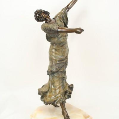 Paul Philippe Art Deco Bronze Spanish Dancer Statue | Art Deco Decor