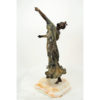 Art Deco Spanish Dancer Bronze by Philippe Rear