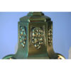 Art Deco Brass Chandelier Details