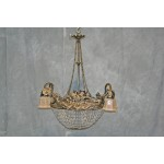 Antique Art Nouvea Chandelier