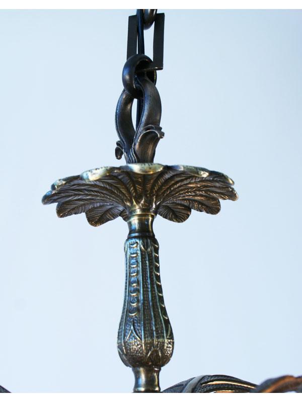 Palm Tree Bronze Amp Brass 1stdibs Chandelier Art Deco Decor