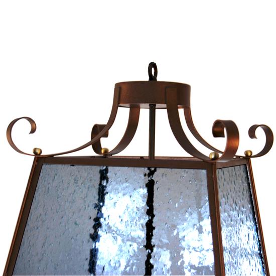 french parisian style hanging pagoda lantern chandelier 1stdibs