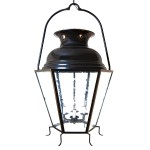 Double Dome Top 3 Foot Lantern