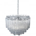 Venini Italian Glass Chandelier