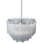 Venini Italian Glass Chandelier