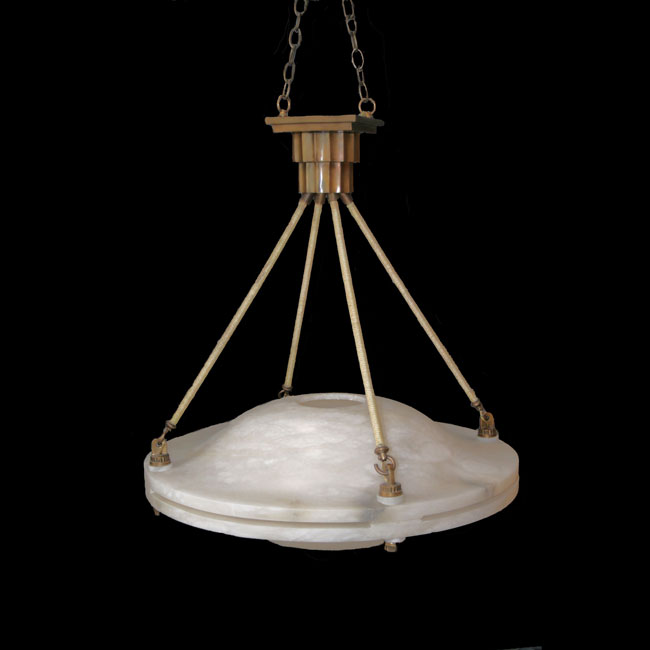 Art Deco Ruhlmann Double Dome Alabaster 1stdibs Chandelier Decor