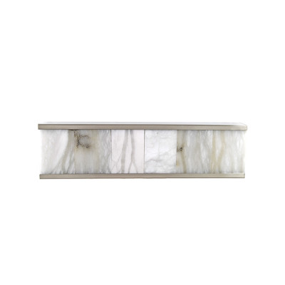 Modern Alabaster Wall Sconce Lighting Fixture