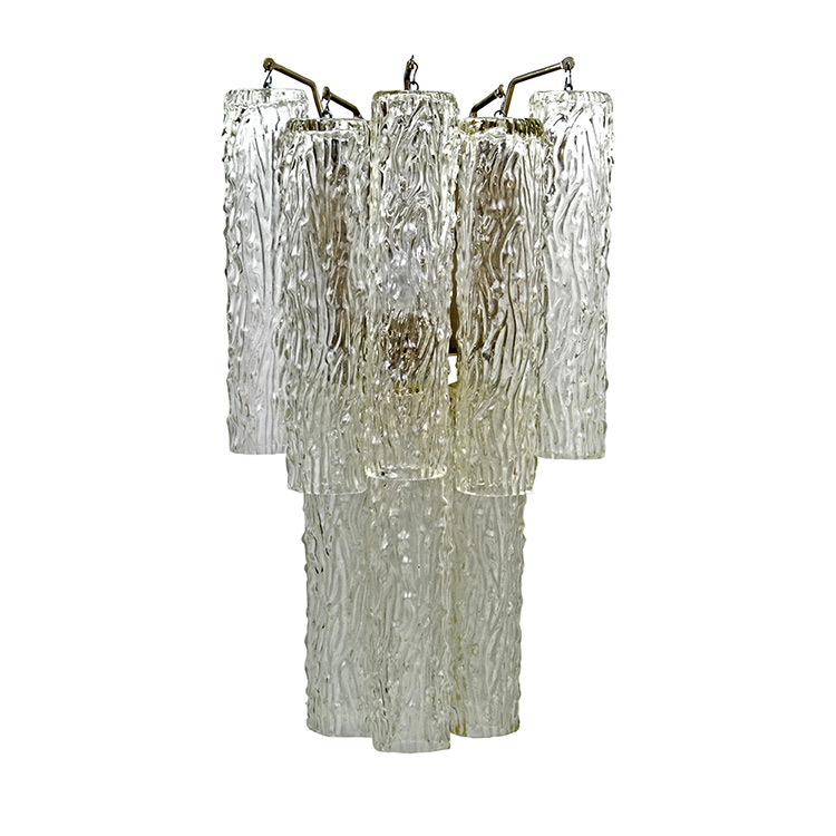 Design Glass Wall Sconces : Art Deco Venini Draped Organic Style Glass Wall Sconce Lighting Art Deco Decor