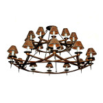 Double-Dos-Equis-Wrought-Iron-Steel-Chandelier-750