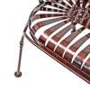 Springback Garden Bench with Pinwheel Designs