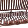 Francois Carre Style Pinwheel Designed Bench