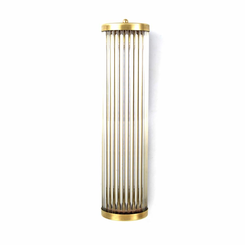 Simple Streamline Brass Glass Rod